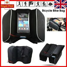 ROSWHEEL CYCLE BIKE BICYCLE FRAME POUCH BAG CASE MOBILE PHONE HOLDER FOR IPHONE