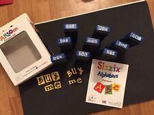 Sizzix Die Lot Alphabet RARE Set Font DieCut  Brand NEW IN BOX Alphabars Ransom