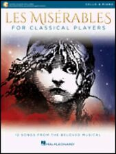 Les Miserables for Classical Players Cello and Piano Book and Audio 000284866