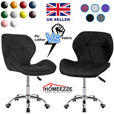Cushioned Chair Swivel Small Adjustable Computer Desk Vanity Table Office Dining