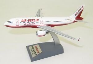INFLIGHT 200 IF320AB002 1/200 AIR BERLIN AIRBUS A320-200 D-ABDA WITH STAND