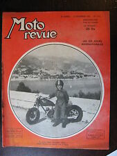 MOTO REVUE N°1011  16  DEC 1950 ADLER M100/ LES ISDT / NOUVEAUTES TECHNIQUES
