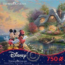 750 Piece Thomas Kinkade - The Disney Collection - Mickey And Minnie Fun Puzzle
