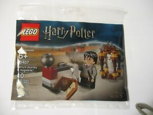 Lego Harry Potter 30407 Harry's Journey to Hogwarts With Owl Hedwig NEW POLYBAG