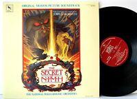 The Secret of Nimh - Varese Sarabande STV 81169 Original LP Vinyl Record Album