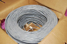 Gray 22/2 Security Alarm Wire Unshielded 1000 ft (S5110)
