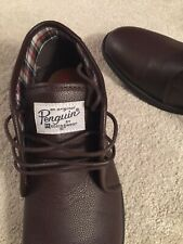Penguin Brown Boots Lace Up. Brand New. Size 12