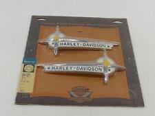 GENUINE Harley Davidson fuel tank log nameplate