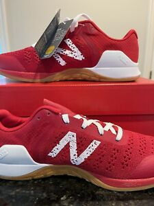 New Balance Mens Minimus Prevail MXMPRR1 Red Training Shoes Size 9.5 Wide (EE)