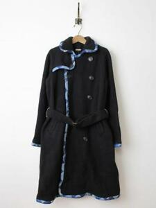 KAPITAL KOUNTRY After Dyed Tyrol Wool Remake Piping Trench Coat (Long) size:1