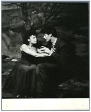 """France, Théâtre, Michel Bouquet Vintage . Photo Lipnitzki """"Spectateur"""" Tirag"""