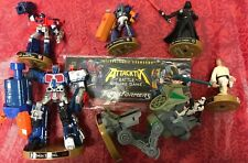 Attacktix Battle Figure Game Transformers Star Wars Optimus Prime Darth Vader