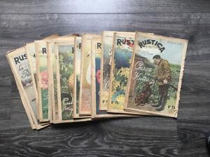 RUSTICA- LOT DE 31 NUMÉROS -1939