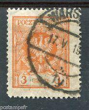 POLOGNE, 1924, timbre 289, AIGLE, oblitéré