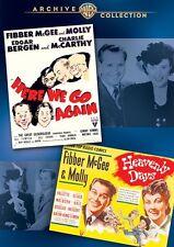 Fibber McGee & Molly Double Feature DVD (1942) - Jim Jordan, Marian Jordan,