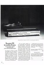 PUBLICITE  1972   BEOSYSTEM 901   chaine hi fi