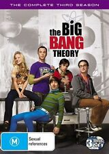 The Big Bang Theory : Season 3 (DVD, 2010, 3-Disc Set)