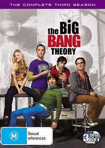 The Big Bang Theory : Season 3 (DVD, 2010, 3-Disc Set) New Sealed Region 4
