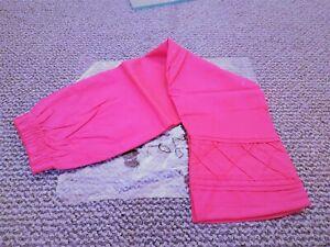 Women Girls Pakistani Indian Trousers Capri Straight Pants Cotton 24 to 34