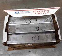 LEAD INGOT bar bullet casting reloading sinkers SOFT Lead --  25 LB  --