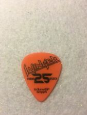 Guitar Pick John Roth - Winger 2013 tour issue pick No lot