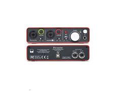 Focusrite Line XLR Pro Audio/MIDI Interfaces
