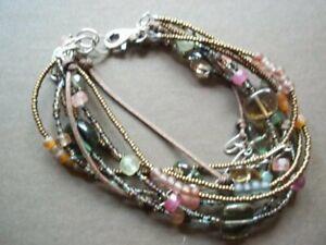 Silpada Sterling Silver Chalcedony Quattz Pink Bracelet B2090