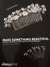 BDi Tiaramaking Floral Vintage Comb & Hairpin Set Making Kit