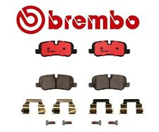 Brembo Rear Brake Pad Set Ceramic & Clips For Land Rover LR3 Range Rover Sport