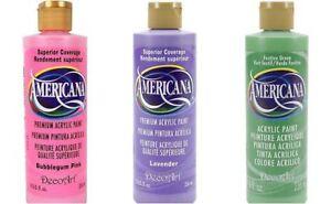Artists Pastel Color Paint Kit - (1) 8 ounce bottle of each color shown