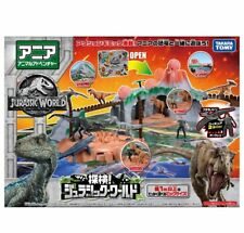 Takara Tomy ANIA Expedition Jurassic Park World Animal Action Figure Playset