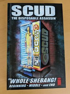 Scud: The Whole Shebang Limited Edition Hardcover Signed by Rob Schrab