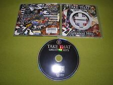 """Take That - Greatest Hits - RARE Original 1996 Israel Made """"Hed-Arzi"""" CD"""