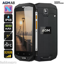 """AGM A8 5.0"""" 4G Smartphone Android 7.0 Quad Core 1.2GHz 3 GO 32GB 4050mAh"""
