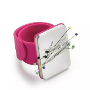 Pink Magnetic Arm Pin Cushion, Dressmaking Quilting Sewing Bee Prym Love 610283