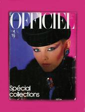 L'OFFICIEL PARIS-SEPTEMBER 1979-SPECIAL COLLECTIONS-GIA CARANGI AD-BALENCIAGA