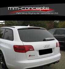 CUP Dachspoiler für Audi A6 C6 4F Avant S-Line S6 RS6 Spoiler Rear Roof Ansatz