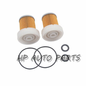 2 PCS 6A320-59930 Fuel Filter with O ring for Kubota B1410 RTV900 L320