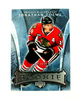 07-08 UD Artifacts Jonathan Toews Silver Parallel RC 006/100 Chicago Black Hawks