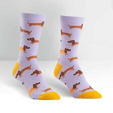 SOCK It To Me Women's Crew Socks-HOT DOG