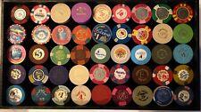Casino Chips from various Nevada Casinos