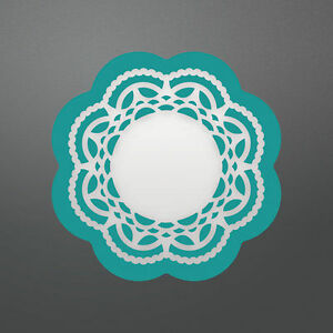 Couture Creations- Enchanted Tea Party Collection- Doily Set Die