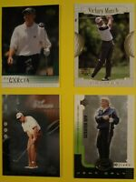 13 CARD LOT OF UPPER DECK GOLF CARDS 2001-2004 TIGER WOODS, MIKE WEIR, JOHN DALY