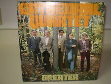 "THE CATHEDRAL QUARTET...""GREATER""......RARE HTF OOP GOSPEL ALBUM"
