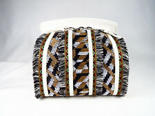 NWT Adorable! Sam Edelman Bobbi Leather Micro Top Handle Bag Multi Browns
