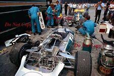 BRABHAM F1 TEAM nel paddock GERMAN GRAND PRIX 1970 fotografia 1