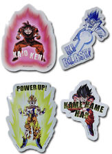 **Legit** Dragon Ball Z Goku Power Up Kame Hame Ha Ki Blast Sticker Set #55429