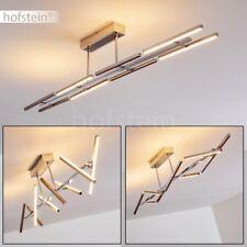Plafonnier Design LED Lampe de salon Lampe à suspension Lustre de cuisine Chrome