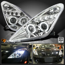 2000-2005 Toyota Celica LED Dual Halo Projector Headlights Head Lamps Left+Right
