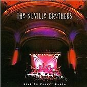 THE NEVILLE BROTHERS - LIVE ON PLANET EARTH - 1994 A&M USA CD